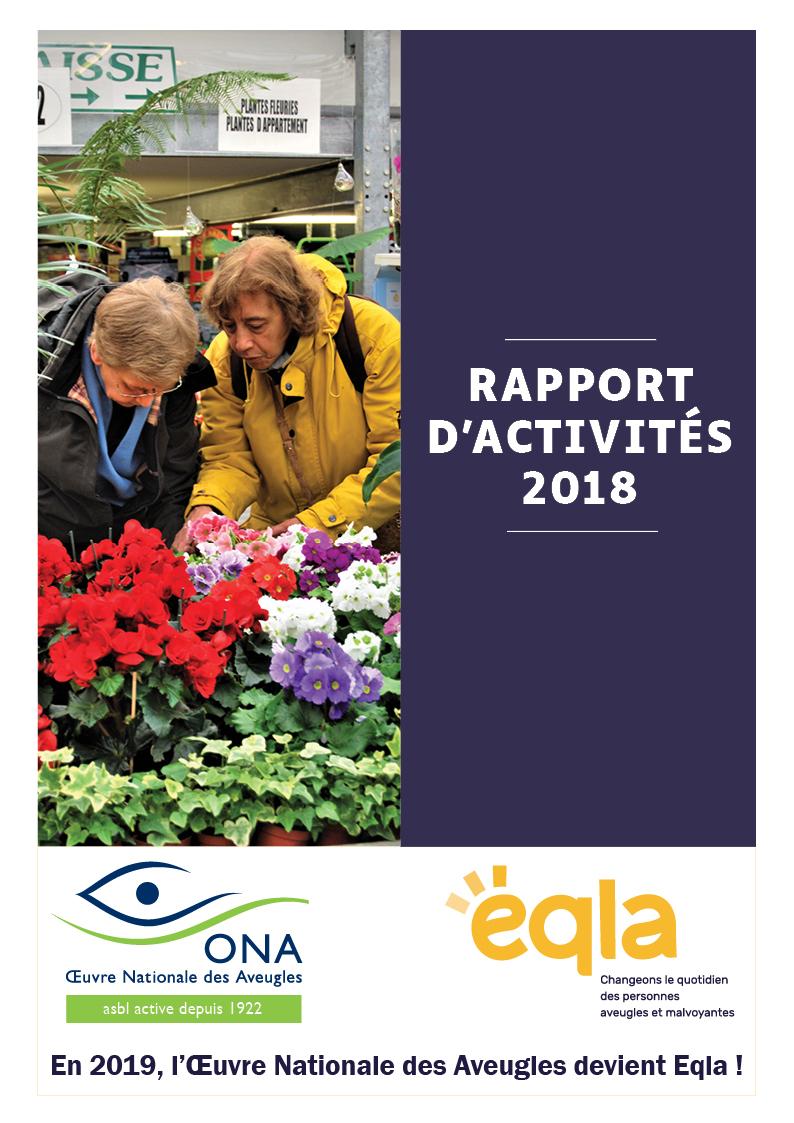 Rapport d'activités 2018 - PDF