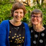 Sophie et Céline, animatrice à la ludothèque d'Eqla