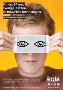 Affiche de Simon - Simon, 24 ans, est fan de nouvelles technologies