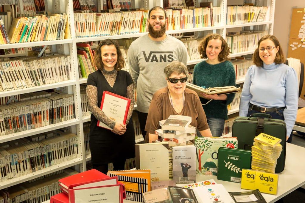 Equipe bilbliothèque Eqla 2020