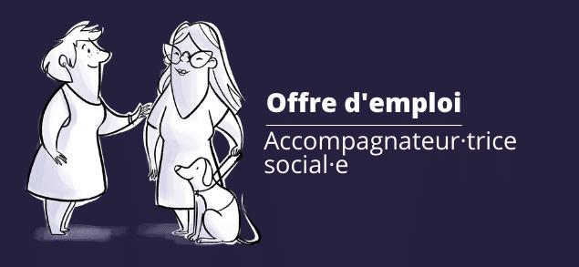 Offre d'emploi Accompagnateur social