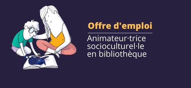 Offre d'emploi bibliothèque