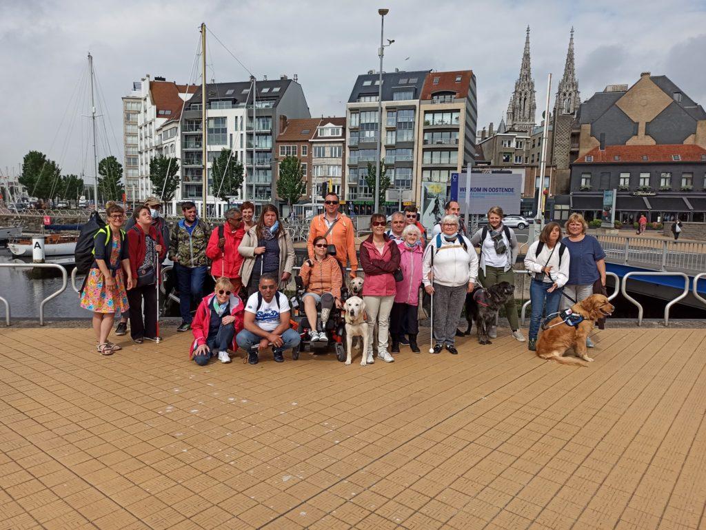 La traditionnelle sortie Eqla à Ostende (juillet 2021)