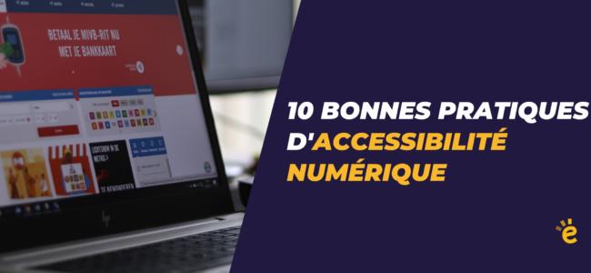 Accessibilité numérique : 95% des sites des services publics belges sont « hors-la-loi »